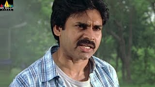 Annavaram Movie Pawan Kalyan warning to Lal | Telugu Movie Scenes | Sri Balaji Video