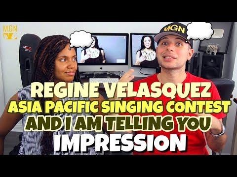 Regine Velasquez - Asia Pacific Singing Contest (1989) | And I'm Telling You | PATREON IMPRESSION