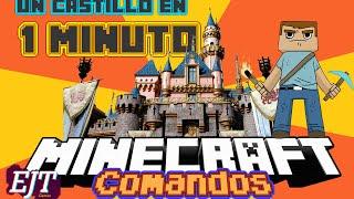 Un Castillo en Un Minuto | Tutorial de Comandos | EmaJinaTion Games
