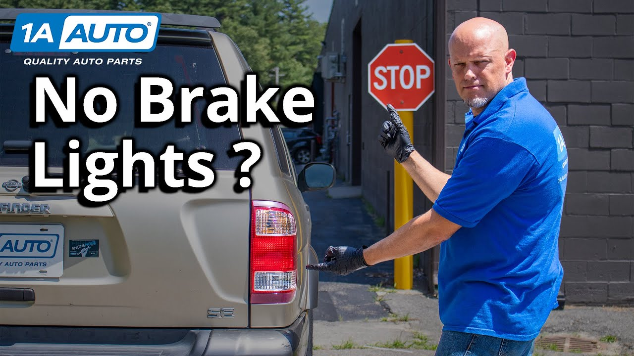 One or More Brake Lights Not Working? How to Diagnose Tail Lights
