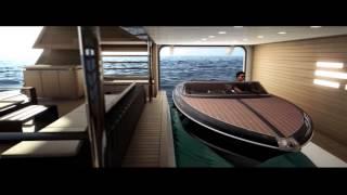 CRN Yachts - Tender Bay M/Y J'ade 60m