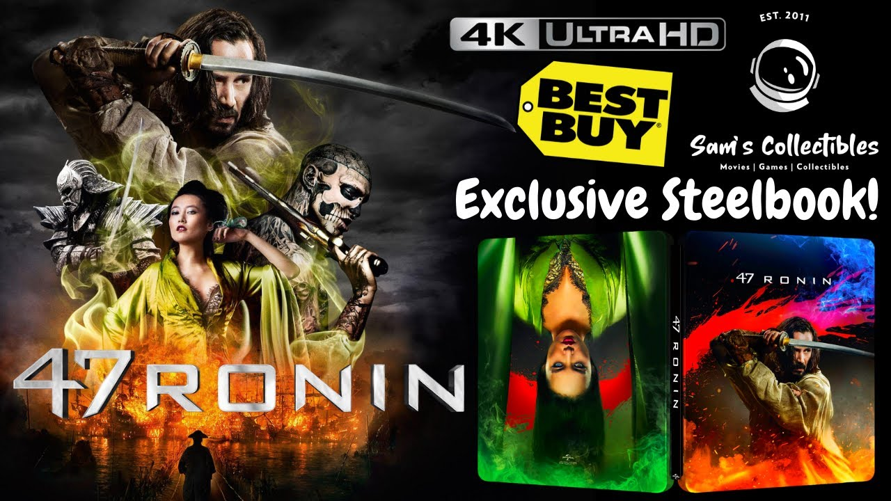 Download 47 Ronin Best Buy Exclusive 4K Steelbook | Unboxing & Review