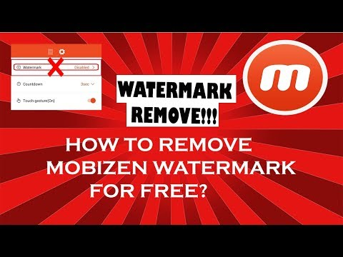 How To: Remove Mobizen Watermark To Screen Record On Android ! (No Root) | HINDI