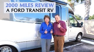 The Ford Transit RV Chassis Review   What We Think After 2000 Miles