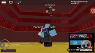 Mobile User playing roblox