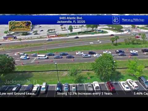 Olive Garden - 10-Year Corporate Triple-Net (NNN) Ground Lease - Jacksonville, FL