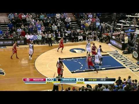 Houston Rockets vs Minnesota Timberwolves | April 11, 2014 | NBA 2013-14 Season