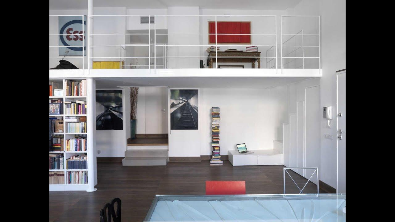 Large Apartment Interior Design Ideas : Bright Multi Level ...
