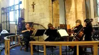 Mozart - Quartet No. 12 K. 156 - III - Tempo di Menuetto (The Octavia String Quartet)