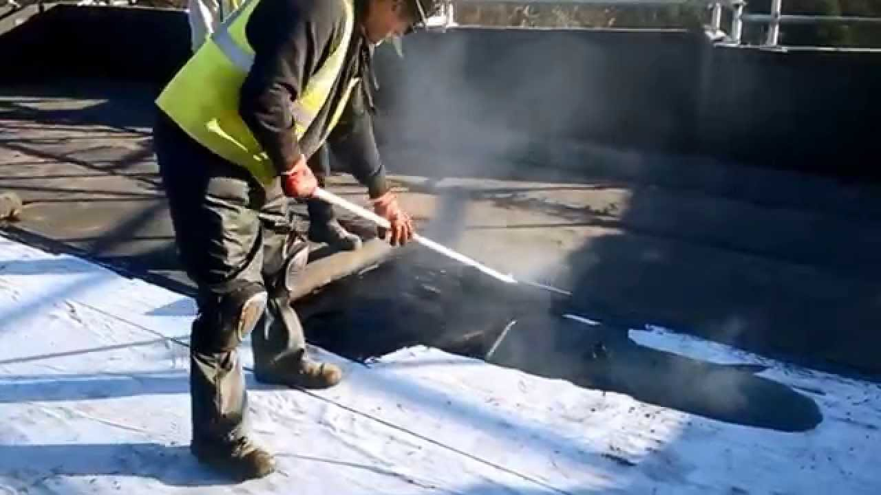 Permatec Hot Melt Waterproofing System Youtube