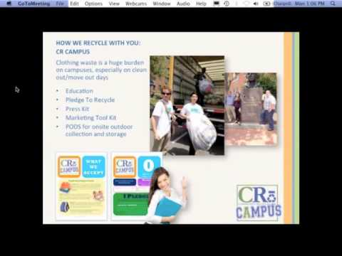 Used Clothing Recovery Industry Webinar (12/17/13)
