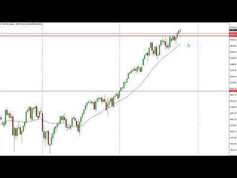 DOW Jones 30 and NASDAQ 100 Technical Analysis for the week of October 23, 2017 by FXEmpire.com