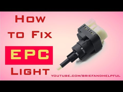 How to Fix EPC Light