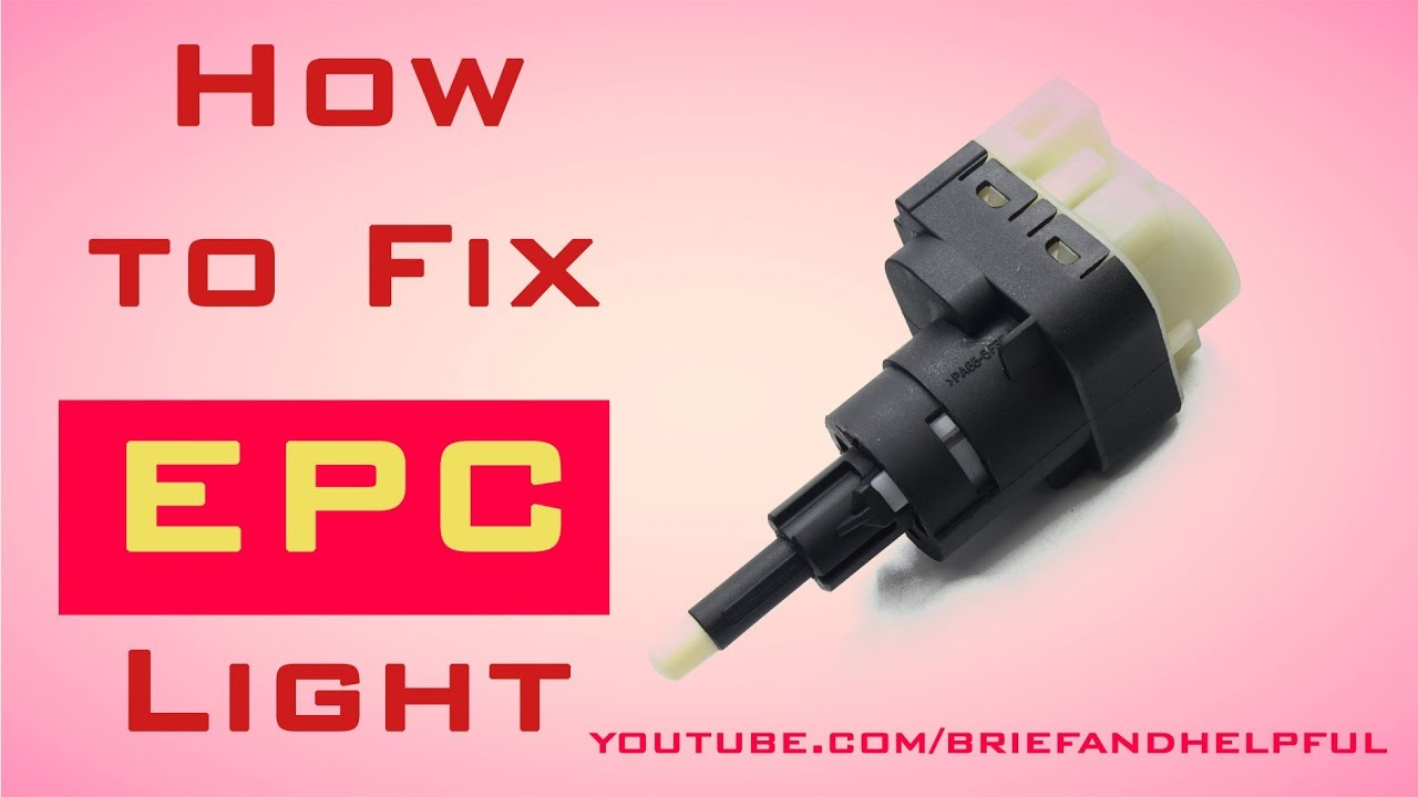 Epc Light Audi >> How to Fix EPC Light - YouTube