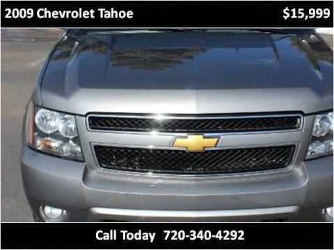 2009 chevrolet tahoe used cars longmont co youtube for Victory motors trucks longmont
