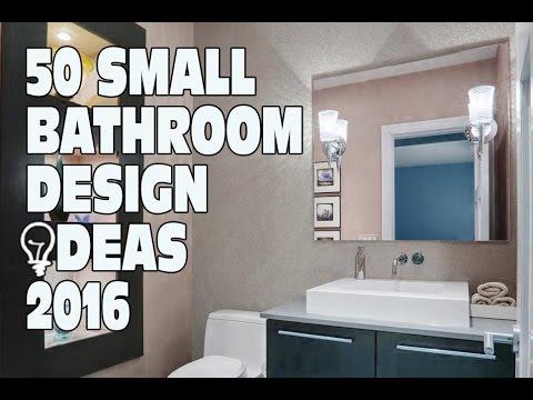 50 Small Bathroom Design Ideas 2016 - YouTube