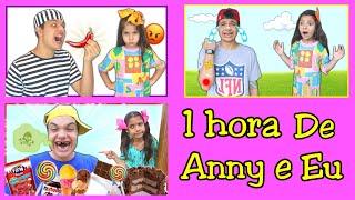 ANNY E EU 1 HORA DE VIDEO COM IRMÃO