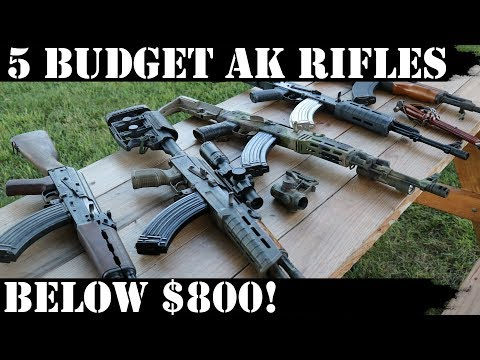 5 Best AK-47 Rifles Under $800 - GunUniversity com
