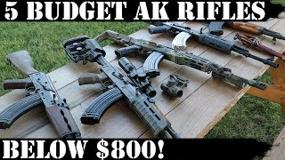 5 Budget AKs - Below $800! YouTube Videos