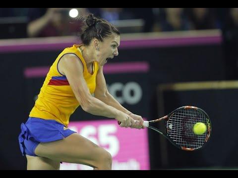 Highlights: Simona Halep (ROU) v Petra Kvitova (CZE)