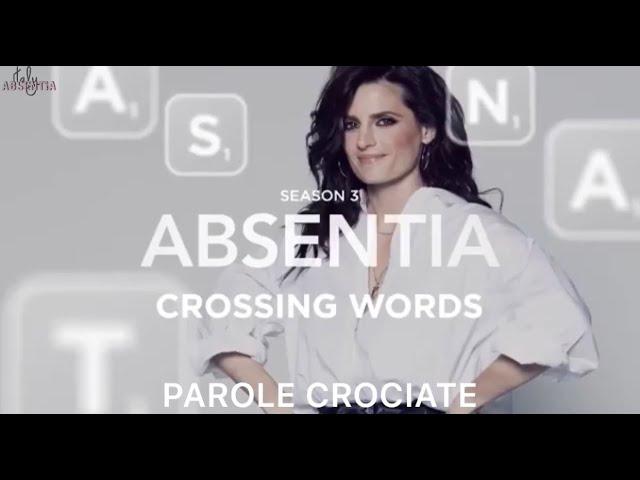 SUB ITA: Il cast di #ABSENTIA descrive la terza stagione in 3 parole, giocando a parole crociate.