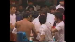 アントニオ猪木 VS マサ斎藤  試合後の乱闘 thumbnail