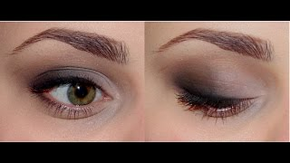 видео Дымчатый макияж