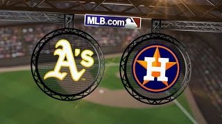 7/28/14: Astros belt four homers to top the A