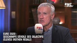 Euro 2020 : Deschamps dévoile ses objectifs (élevés) (Rothen régale)