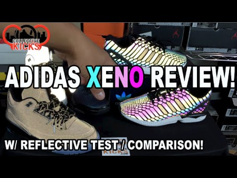 separation shoes 24abb 1fb5b  Xeno  adidas ZX Flux Review With Reflective Test