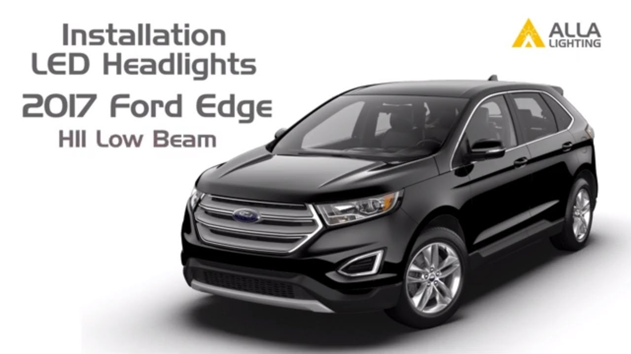How To Install Change 2015 18 Ford Edge Low Beam Headlight Bulb