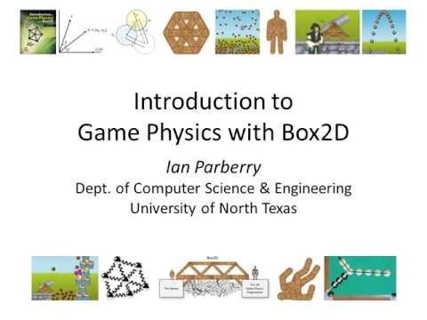 Chapter 1 of Introduction to Game Physics with Box2D