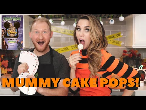 Kim Possible BAKES Mummy Cake Pops!!!