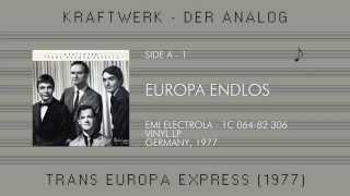 Kraftwerk - Trans Europa Express (1977) Vinyl LP, Germany