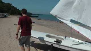 Rigging a Sunfish Sailboat