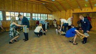 Конкурс с трусами на свадьбе. Овруч Голубое озеро. Wedding contest.
