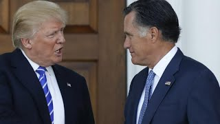 Mitt Romney publicly rebukes President Trump
