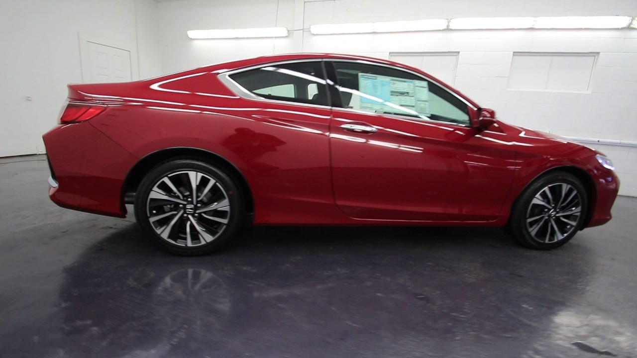2017 Honda Accord Ex L San Marino Red Ha000979