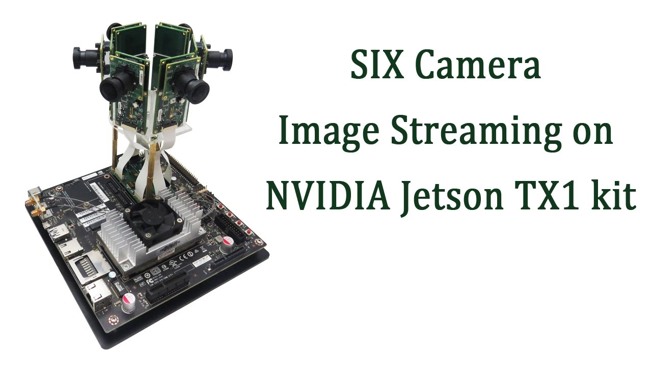 6 MIPI CSI-2 Cameras support for NVIDIA Jetson TX1/TX2 | e-con Systems