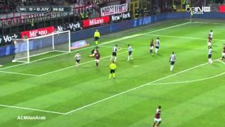 AC Milan 0-2 Juventus 2013/2014 | Full Highlights Arabic Comm.