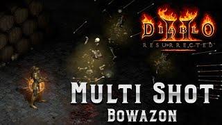 The most EXPENSIVE Diablo 2 Build - The Faith Multi Shot Amazon - Build Guide