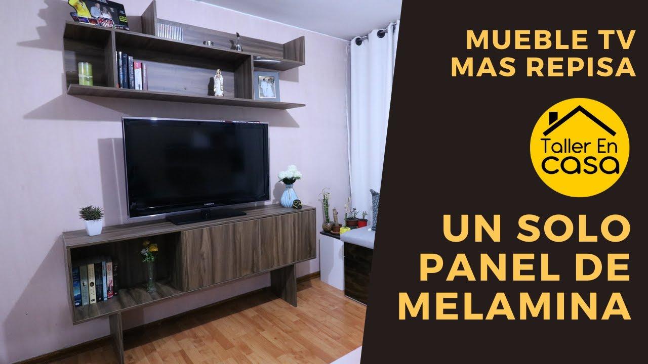 Mueble para TV + Repisa By Arauco Cómo hacer