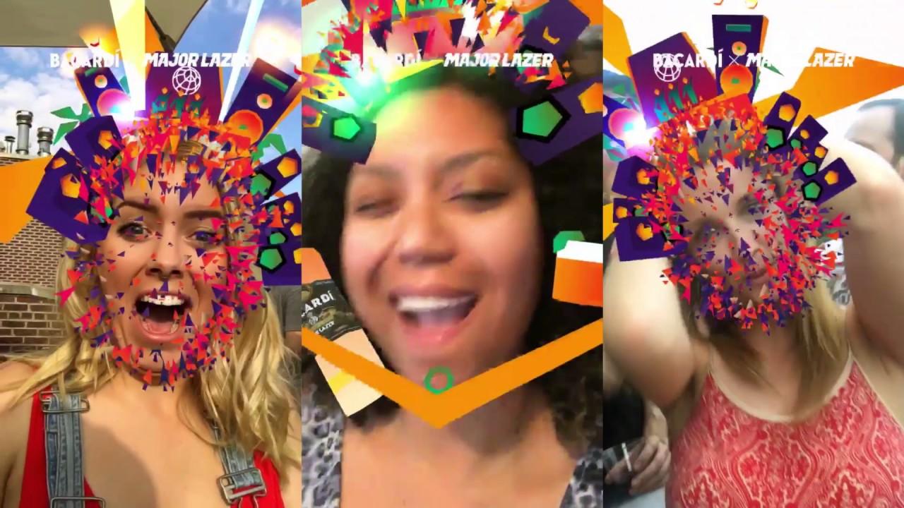 Bacardi x Major Lazer Snapchat Music Video