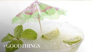 Good Things: How To Make A Key Lime Mojito - Martha Stewart