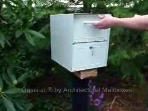 Oasis Jr Locking Mailbox Vulnerable to Fishing and Prying