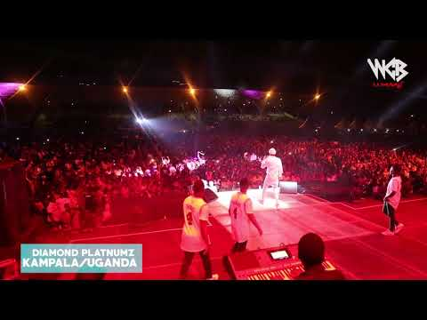 DIAMOND PLATNUMZ-  LIVE PERFORMANCE IN UGANDA