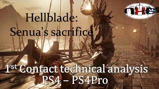 Hellblade Senua's Sacrifice: 1st look Frame-rates, Resolution PS4Pro/PS4