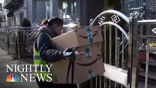 Police Department Teams Up With Amazon To Catch 'Porch Pirates' | NBC Nightly News