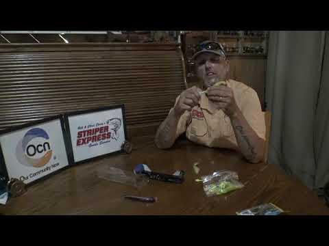 Lake Texoma Striper Fishing With Jerkbaits | Striper Express Fishing Report