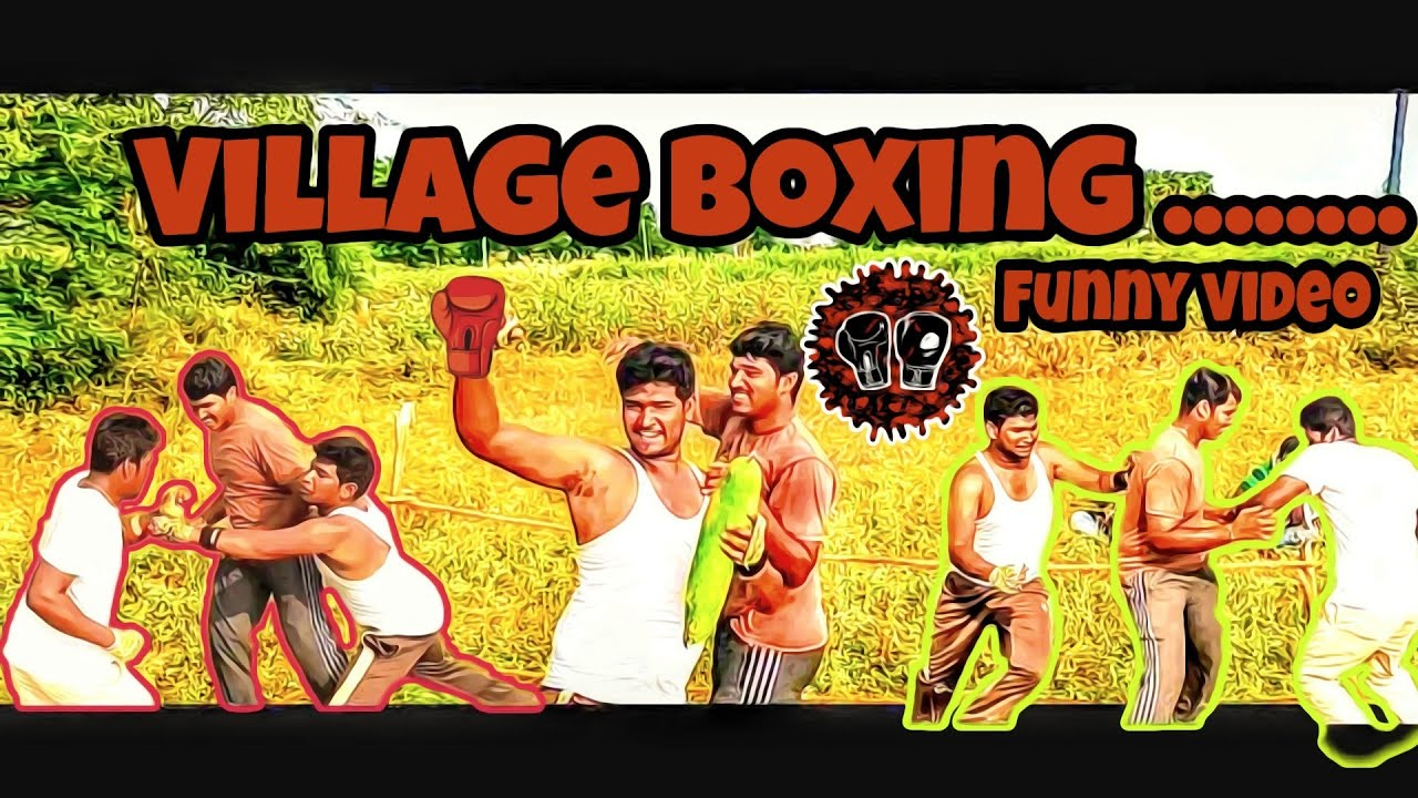 Village boxing,Village funny video inspired by creative thinks,my village  show and pakkinti kurradu